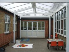 A school Canopy we have completed