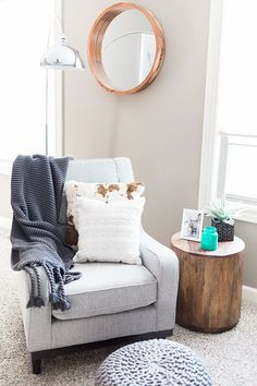 The Brunette One | Finding the Perfect Accent Chair with VOLO Design #TBOxVOLO