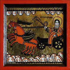 Kristen Konst, Christian Paintings, Religious Images, Orthodox Icons, Folk, Religion, Angels, Spirituality, Art Deco