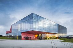 016-culture space in Beaumont-Hague by  PERIPHERIQUES Architectes MARIN TROTTIN Architects