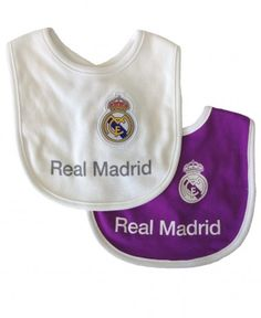 1fd402ab8 Real Madrid Baby 2 Pack Bibs - 2016 17 Season Kids Swimwear