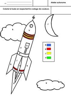 Atelier autonome Moyenne section.  - colorie fusée.docx  - colorie fusée.pdf