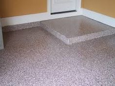 garage or porch flooring Design for the garage floor epoxy coatings may merely match the color of th Garage Floor Epoxy, Epoxy Floor, Concrete Resurfacing, Concrete Floors, Garage Boden, Jesus Artwork, Porch Flooring, Epoxy Coating, Wet And Dry
