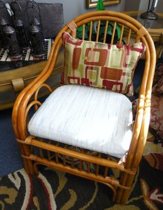 Rattan Chair $55.00. - Consign It! Consignment Furniture