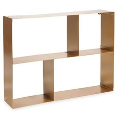 etagere murale rose gold