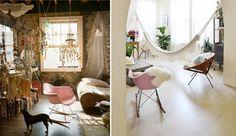 Ideas para decorar tu hogar en Habitissimo Eames Rocking Chair, Butterfly Chair, Hanging Chair, Furniture, Ideas, Home Decor, Home Decorations, Colors, Blue Prints