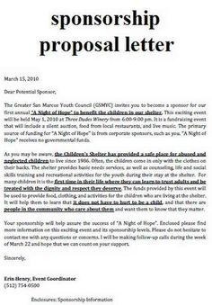 writing a sponsorship proposal letter Sample Sport Event Sponsorship Proposal Template Free Fundraising Letter, Nonprofit Fundraising, Fundraising Events, Non Profit Fundraising Ideas, Fundraiser Themes, Fundraising Activities, Sponsorship Levels, Sponsorship Letter, Grant Writing