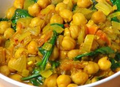 This week we feature a Caribbean vegan recipe that is not only tasty but nutritious.Here is the recipe for Chick Peas, also called Garbanzo beans or channa, and potato