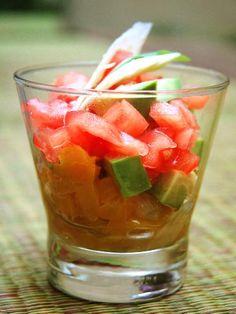 Tartare tomates et avocats - Recette