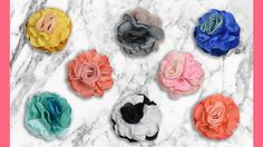 Check out these new hair flowers, perfect to to add a splash of spring into your hair! http://ss1.us/a/zL5A5PXb