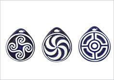 colgantes celtas