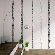 Wall Mount Decals - Super Real Birch Trees wallsneedlove.com