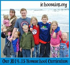 2014-15 Homeschool Curriculum, using Tapestry of Grace, Apologia, Math-U-See, Teaching Textbooks