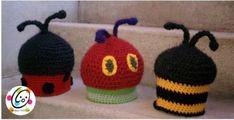 Bugz Hats ~ free pattern