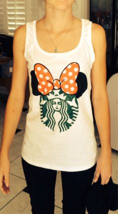 Disney Starbucks Shirts door DleneDesigns op Etsy https://www.etsy.com/nl/listing/194691632/disney-starbucks-shirts