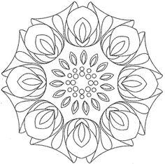 Mandalas Para Pintar: mandalas para colorear,