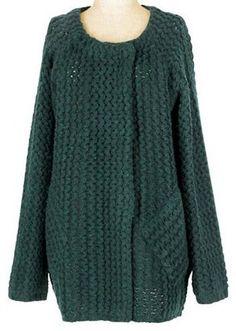 Knit Coat / ShopStyle: Osmosis (オズモーシス) 模様編ニットコート