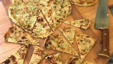 These courgette & feta flatbreads go wonderfully well with a crisp white. Scones, Tapas, Crisp, Zucchini, Appetizers, Snacks, Baking, Recipes, Food