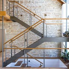 Holz/Stahl Treppen von ETS Treppenbau