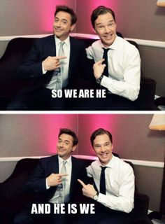 Who is Sherlock Holmes? My gosh! My 2 favorite people just happen to play the same character. I love them both!