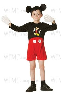 50280a2c928 Mickey Mouse Classic - Child Costume Costumes Uk