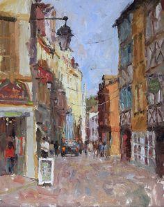 Brent Jensen-Waterhouse Gallery- Plein Air Impressionist-Santa Barbara Art Galleries, plein air, california landscapes, paris, impressionism, original oil paintings, plein air artist