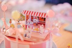 Chelsea's Sweet Shoppe Themed Party – Table Setup Charms Candy, Land Girls, Ice Cream Candy, Something Sweet, Candyland, Table Centerpieces, Party Themes, Gift Wrapping, Charmed