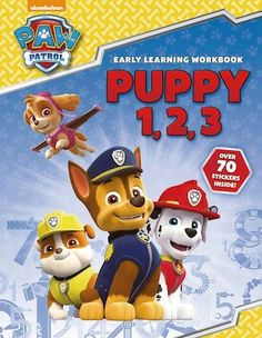 Children can practise counting and numbers with all their favourite pups from PAW Patrol! This full-colour book includes two pages of stickers. Home Learning, Early Learning, Colour Book, Paw Patrol, Counting, Coloring Books, Numbers, Puppies, Stickers