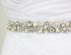 Best Seller  MONACO II  1 Swarovski Pearls by HannabellaDesigns, $135.00