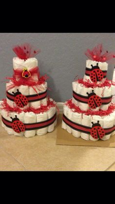 Pampers ladybug baby shower