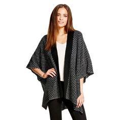 Women's Poncho Sweater - Mossimo