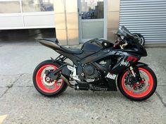 Suzuki gsxr 600, new toy for 2013