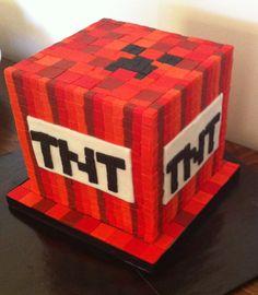 Daniel's Minecraft Cake