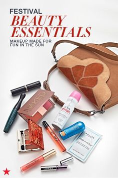 Can you feel the beat? Festival season is just around the corner! Make sure you're prepared for long weekends of fun in the sun with beauty products that keep you looking fresh and sunburn-free. Click to shop your favorites at Macy's.