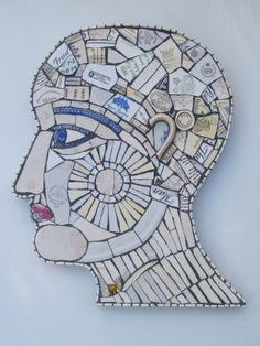 Phrenological Head -Mind, Control, Rule and Wisdom