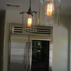 Remodeling Kitchen Lighting Edison Light Bulbs Design, Pictures, Remodel, Decor and Ideas - page 6 - Edison Lighting, Antique Lighting, Cool Lighting, Edison Bulbs, Lighting Ideas, Industrial Lighting, Rustic Industrial, Interior Lighting, Interior Ideas