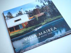Villa mairea esite Alvar Aalto, Villa, Cover, Books, Art, Art Background, Libros, Book, Kunst