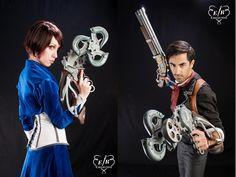 Brilliant Bioshock Infinite cosplay ^_^