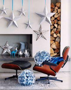 EN MI ESPACIO VITAL: Muebles Recuperados y Decoración Vintage: Preparando la Navidad { Christmas preparations }