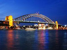 Sydney Harbour from McMahons Point Sydney Harbour Bridge, Places To Visit, Sydney Australia, Travel, Spaces, Viajes, Destinations, Traveling, Trips