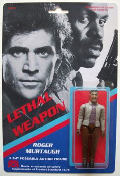 Lethal Weapon Action Figure | Justin over at WeirdoToys recently featured a Roger Murtaugh lookalike ...