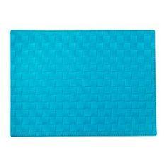 "ORDENTLIG place mat, turquoise Length: 18 "" Width: 13 "" Length: 45 cm Width: 32 cm"