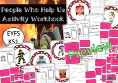 People Who Help Us Activity Pack (Unit of Work- EYFS/KS1)