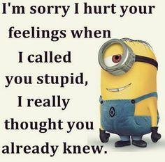 Today Humorous Minions quotes (02:52:28 PM, Monday 30, November 2015 PST) – 10 pics
