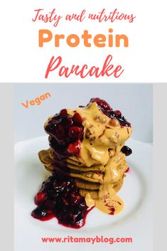 These extremely simple vegan protein rich pancakes are my favorite Sunday breakfast. These protein pancakes can easily keep me satiated till lunchtime. Vegan Protein Pancakes, Yummy Food, Tasty, Diet Plan Menu, Mindful Eating, Vegan Keto, Vegan Recipes Easy, Keto Dinner, Pain