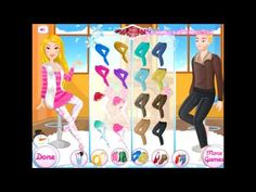 Barbie Games Barbie Fashion Dress Up Game