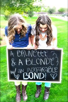 More like A Ranga and a Blonde are the perfect Bond!! @laura10howe