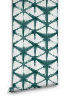 teal green shibori w