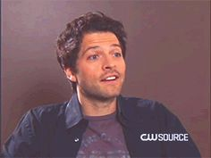 Misha Collins, you beautiful son-of-a-bitch. [GIF]