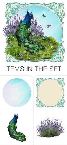 """""""Peacat"""" by kbarkstyle ❤ liked on Polyvore featuring art"""